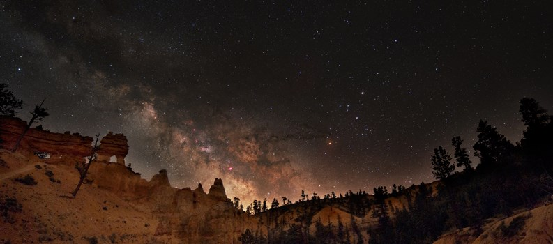 The Night Sky at Bryce Canyon National Park, Utah stars