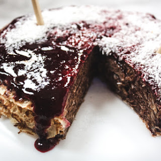 Blackberry Chocolate Crepe Cake