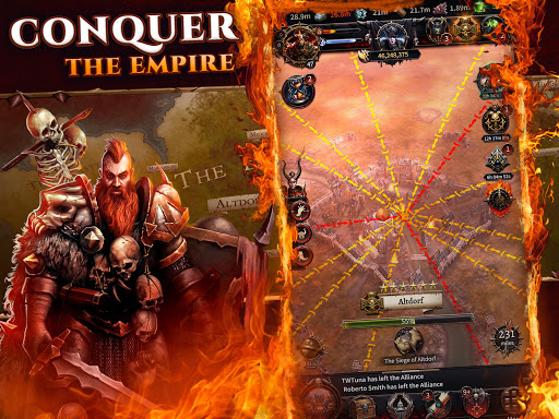 Warhammer: Chaos & Conquest - Build Your Warband apkpoly screenshots 11