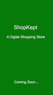 Test App - ShopKept - náhled