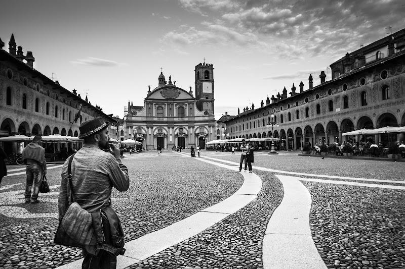 Piazza Ducale-Vigevano di utente cancellato
