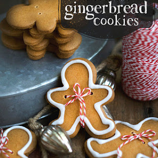 Olive Oil Gingerbread Cookies