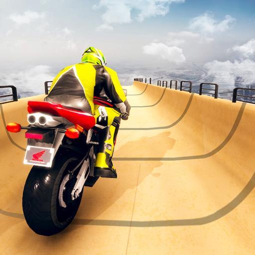 Mega ramp Impossible Track Stunt Bike Rider Giochi