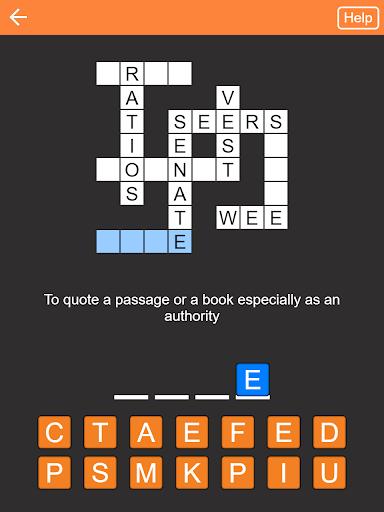Code Triche Quick Crosswords (English) APK MOD screenshots 4