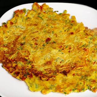 Eggless Omelet (Vegan).