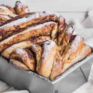 Apple Butter Cinnamon Swirl Bread.
