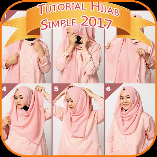 Tutorial Hijab 2017 Simple