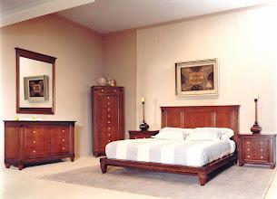 Photo: Schlafzimmer Modell 016, Kirschbaum antik