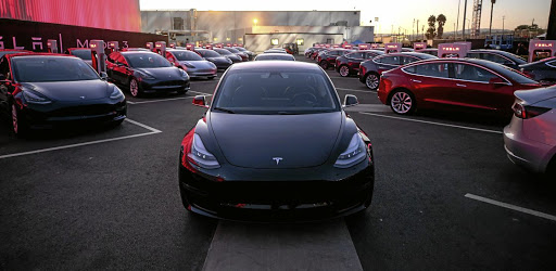 Tesla Model 3. PICTURE: HANDOUT VIA REUTERS