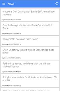 Barrie News - náhled