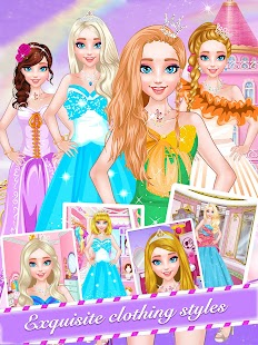 Little Princess-Makeover Salon Girly Games - náhled