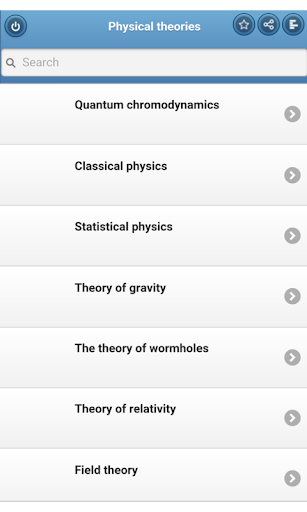 Physical theories