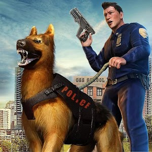 High School Gangster Sim Police Dog Games 2020 1.2 by Toucan Games 3D logo