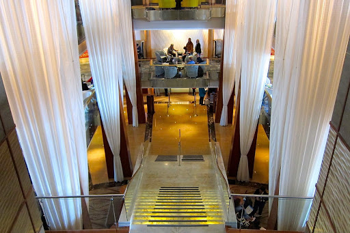 Celebrity-Infinity-central-staircase.jpg - The view over the central staircase on Celebrity Infinity.