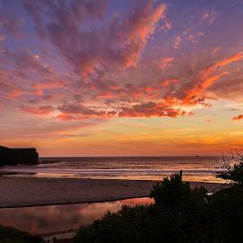 Bushrangers Bay by Madhujith Venkatakrishna - Landscapes Sunsets & Sunrises