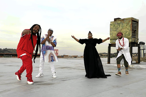 Bongo Maffin reunite to ring in novel Afro-beat 'Harare'