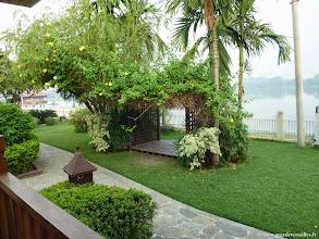 Photo: #023-Monywa, le Win Unity Resort. Le lac.