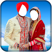 Couple Sikh Wedding Suit