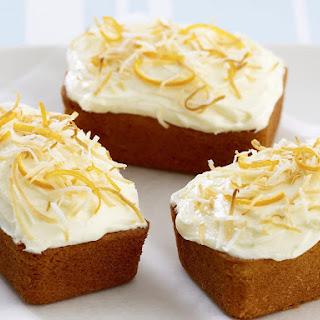 Orange-Coconut Cakes Recipe