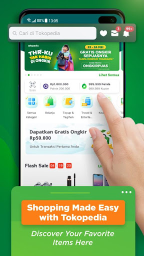 Tokopedia -  Jual Beli Online 3.30 screenshots 2