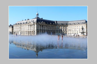 Photo: le miroir d'eau