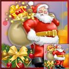 Puzzle photo de Noël icon