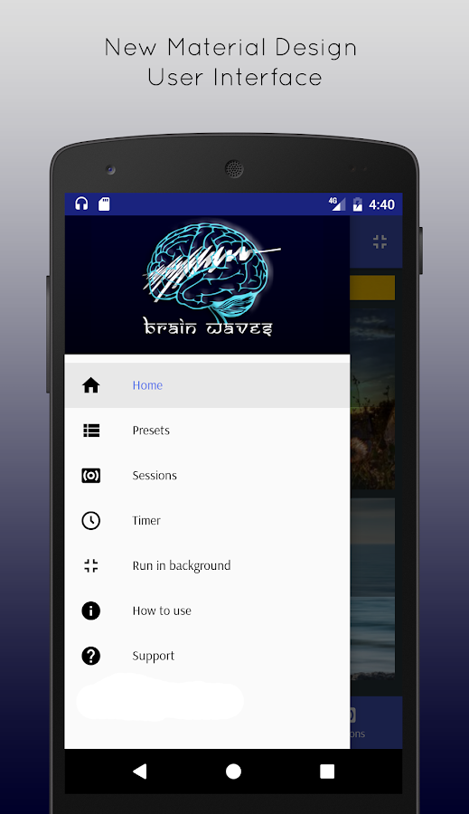 Brain Waves Pro Binaural Beats- screenshot