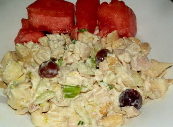 Fruity & Creamy Chicken Salad Recipe