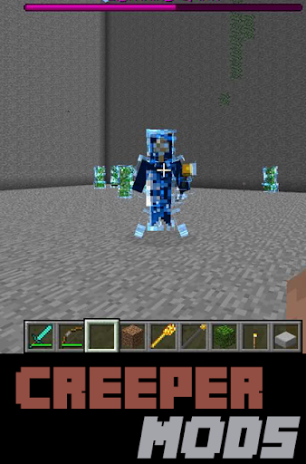 Creeper MODS For MC PocketE