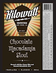Kilowatt Chocolate Macadamia Nut Stout