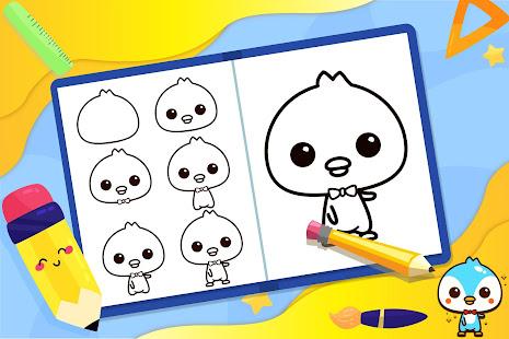 學習如何畫可愛的動物