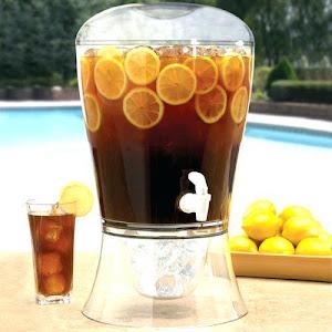 Dozator pentru bauturi cu cilindru de racire si robinet - 7.5 L