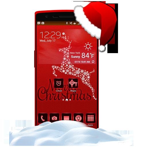 个人化のクリスマスランチャーとテーマ LOGO-記事Game