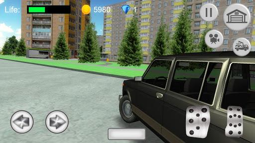 Russian SUV Simulator apkmr screenshots 2