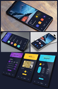 Mat-Home for KLWP 2019..08.08 APK + Modificación (Unlimited money) para Android
