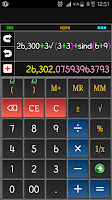Screenshot of Total Calculator