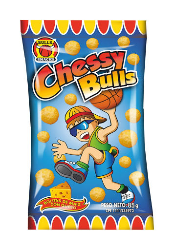 snack cheesy bulls 85gr