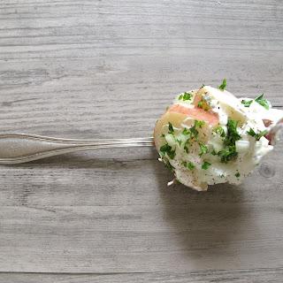 Layered Potato Salad with Parsley