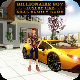 Billionaire Boy Luxury Life Real Family Games