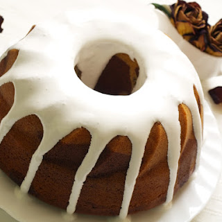 Spiced Rum Cake With A Butter Rum Glaze