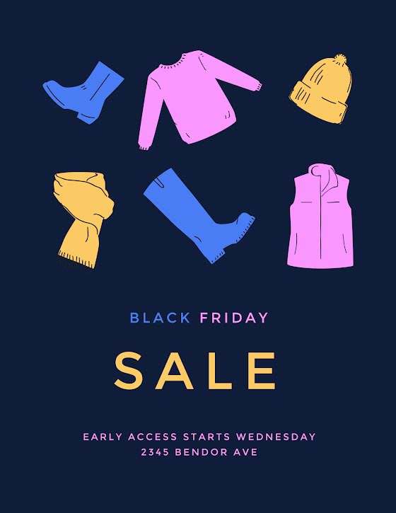 Black Friday Early - Flyer Template