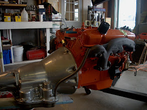 Photo: engine and transmission fully assembled ready for install