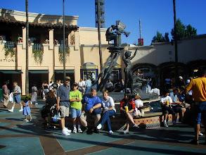 Photo: 2001- i Universal studios sammen med Carsten og Cori