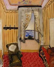 Photo: Interiør i Nice (værelse på Hôtel Beau-Rivage), 1918