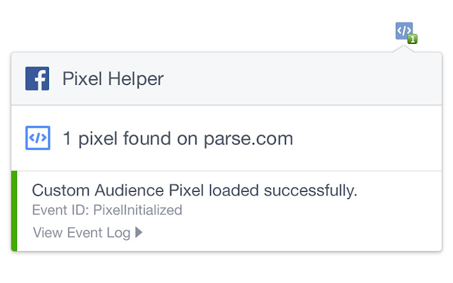 Pixel Helper verifica se o Pixel do Facebook esta funcionandono seu website