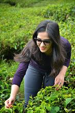 Photo: The pretty tea picker