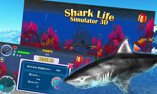 サメ水中攻撃