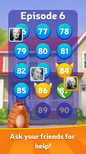 Kitty Scramble: Word Stacks screenshots 5