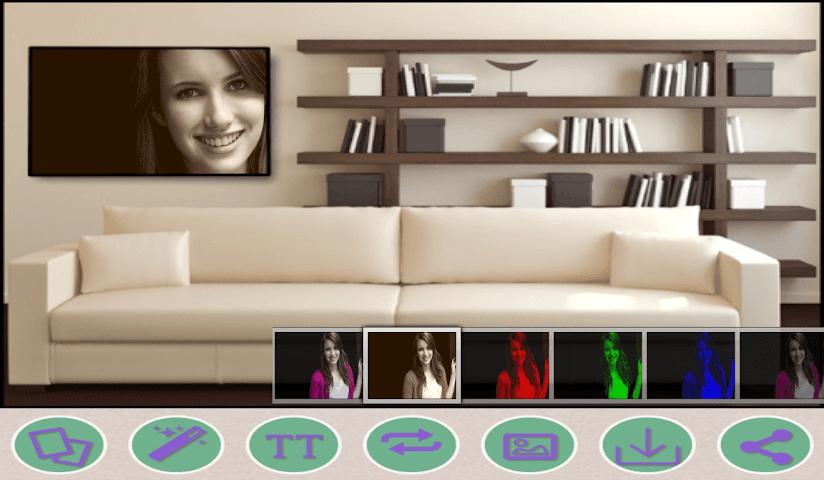 android Hall HD Phota Frames Screenshot 1