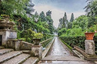 Photo: The 100 Fountains (Cento Fontane) in Villa d'Este in Tivoli, Lazio, Italy